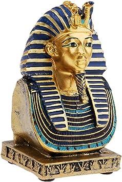 Baoblaze Resina Estatua Mesa Decoración Psicológica Colección Casera - Faraón Egipcio: Amazon.es: Juguetes y juegos