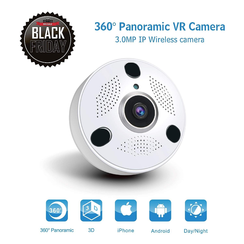 0c91c644f55 Amazon.com   Anni 360 Panoramic WiFi Security Camera