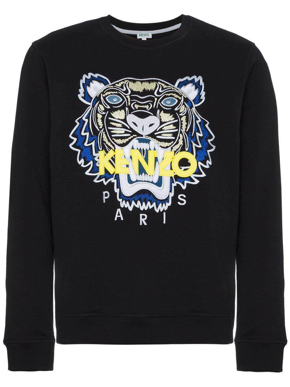 Kenzo Men's F855sw0014xa99 Black Cotton Sweatshirt