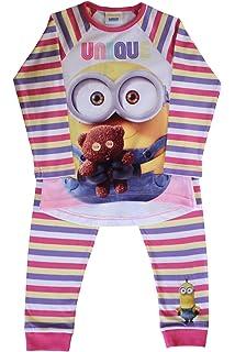 Despicable Me -Minion Made Minions con Licencia Camisa de Pijama Oficial de Conjunto Pijama de