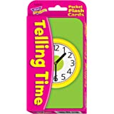 Telling Time Children's Flash Cards
