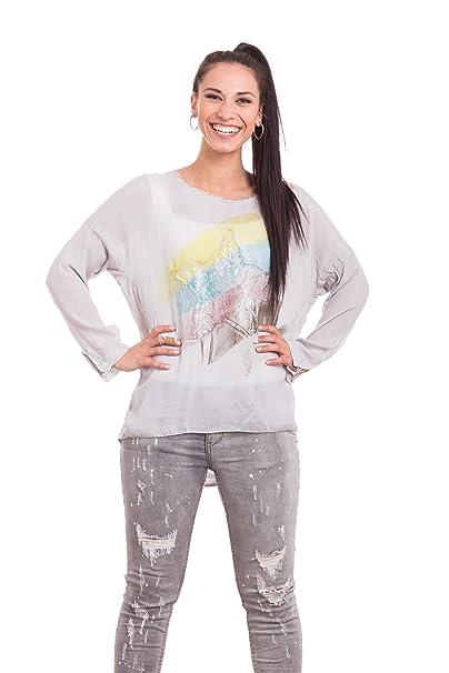 Abbino Jole Camisa Blusa Top para Müjer 5 Colores - Verano Otoño Invierno Mujeres Femenina Elegante