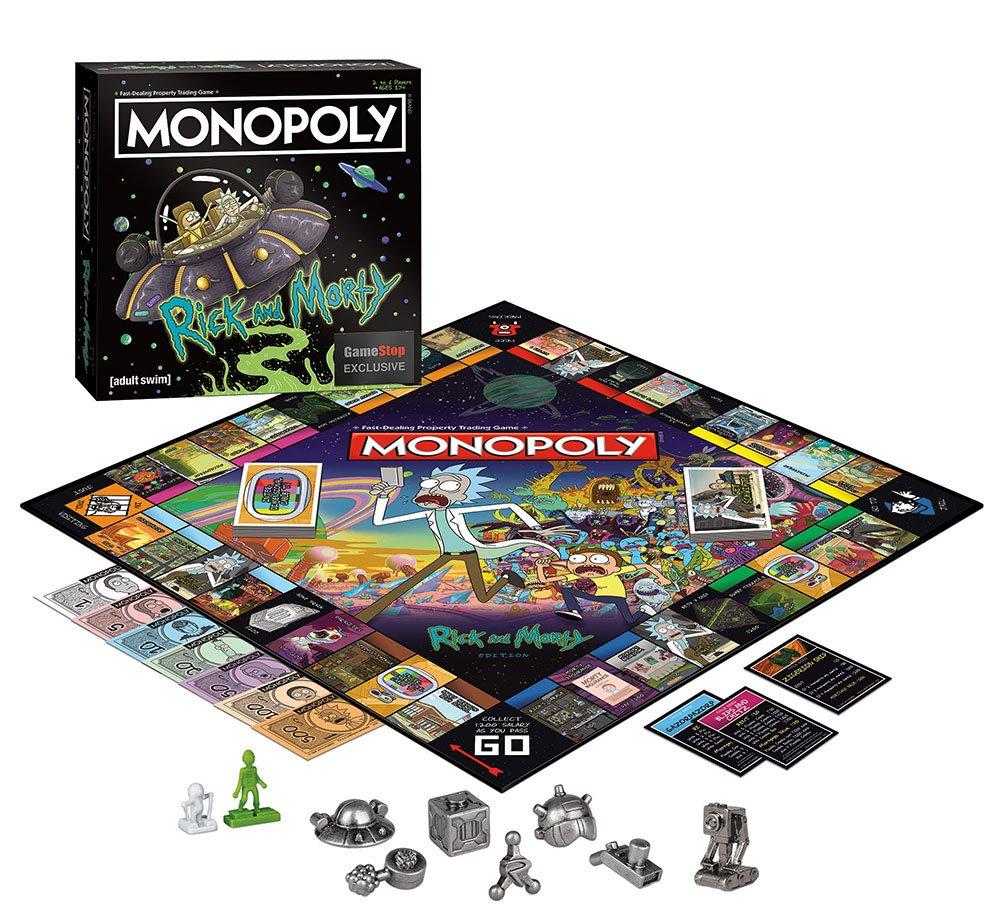 Monopoly Rick and Morty Edition モノポリーリックとモーティー版ボードゲーム英語版 [並行輸入品] B07HLF2X49