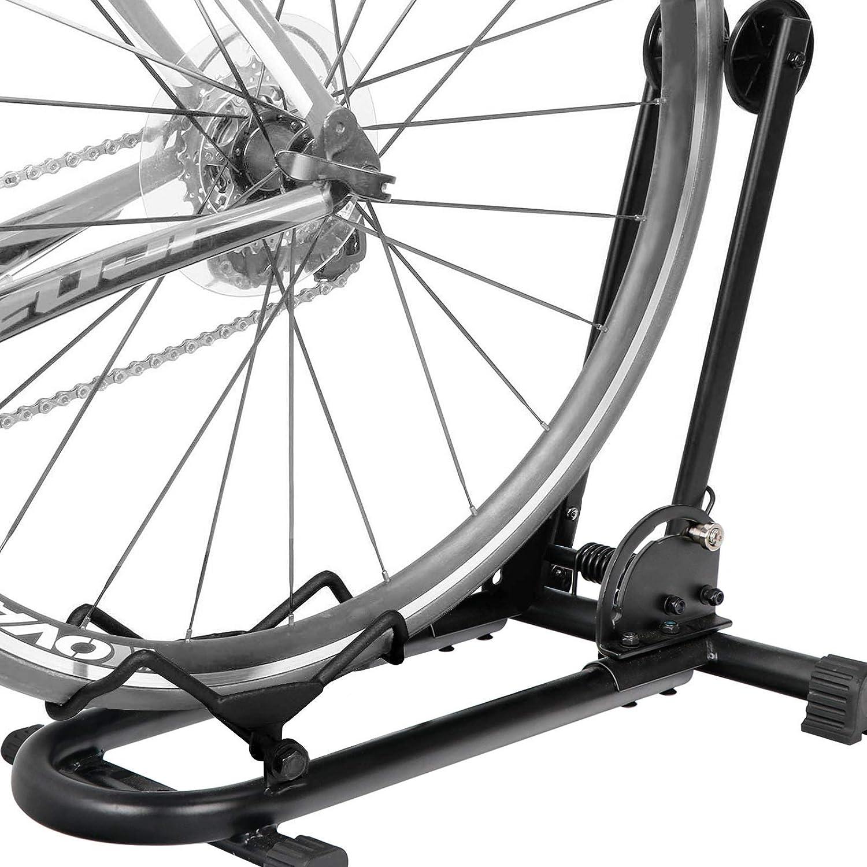 F2C Foldable Bike Floor Rack Portable Bicycle Garage ...