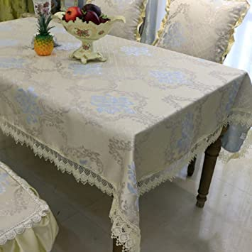 European Style Tablecloths/ Table Runner/non Slip Tablecloth A 135x180cm(