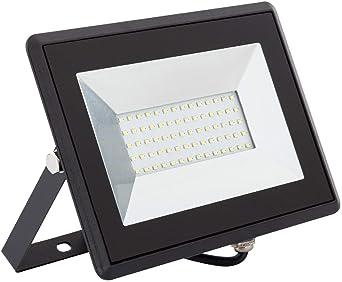 Foco Proyector LED Solid 50W Blanco Neutro 4000K: Amazon.es ...