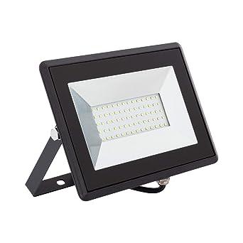 Foco Proyector LED Solid 50W Blanco Cálido 3000K: Amazon.es ...