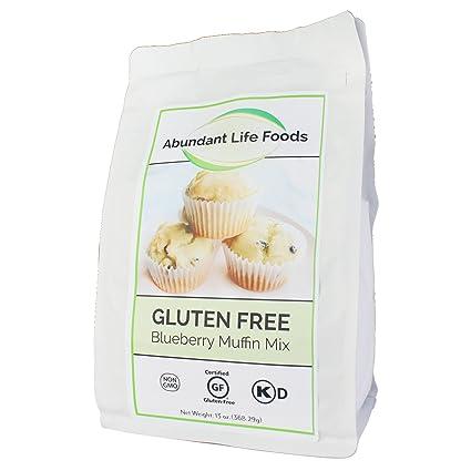 Abundant Life Foods - Mezcla de magdalenas sin gluten (caja ...