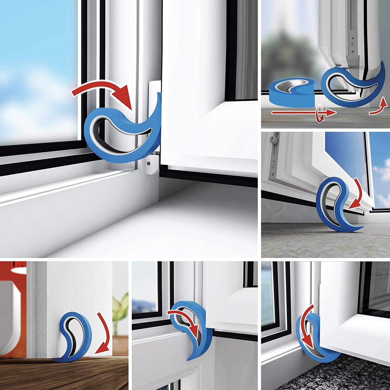 Topes EKKONG para puertas o ventanas por sólo 5,99€