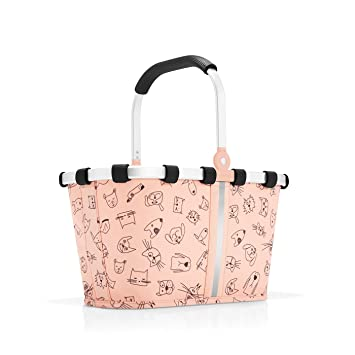 Reisenthel Bolsa de Tela y de Playa, Cats and Dogs Rose ...