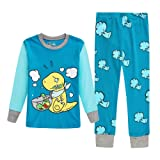 Amazon Price History for:KONGKA Girls Boys Pajamas Set, 100% Cotton Toddler PJS Clothes, Kids Sleepwear
