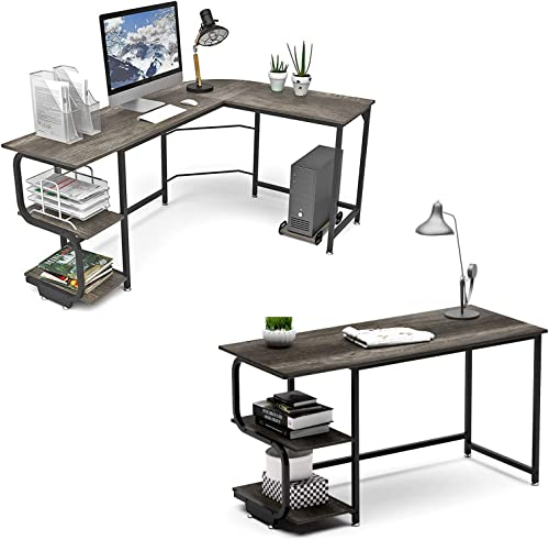 Teraves L Shaped Desk and 47 inch Computer Desk - the best home office desk for the money