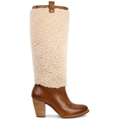 61e6e9e438 UGG Australia Women's Boots Ava Exposed Fur