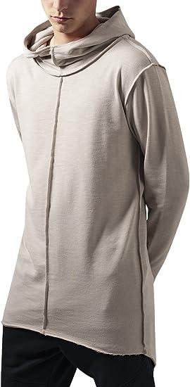 Urban Classics Athletic High Neck Interlock Zip Hoody Streetwear Felpa Cappuccio