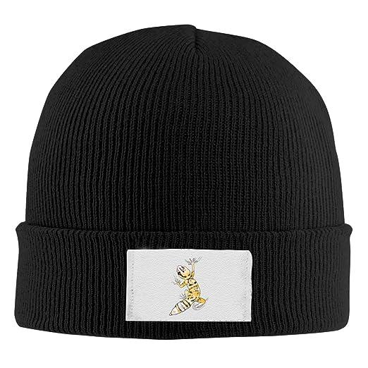 4092908d5 Amazon.com: Rhfjgk Ldjg Beanies Caps Yellow Black Gecko Wool Knit ...