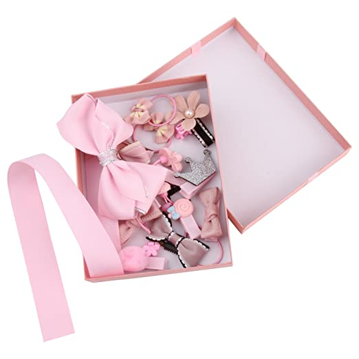 Well known Amazon.com: 18 Set Pink Hair Bows and Bows Organizer for Girls  VS91
