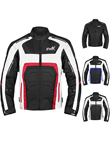 7747f08cd8 Textile Motorcycle Jacket Motorbike Jacket Breathable CE ARMORED WATERPROOF  (XXXX-Large, Red)