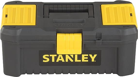STANLEY STST1-75514 - Caja de herramientas de plástico con cierre de plastico, 32 x 17.5 x 13.3 cm: Amazon.es: Bricolaje y herramientas