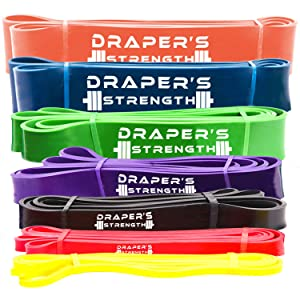 Draper's Strength Heavy Duty Pull Up Bands