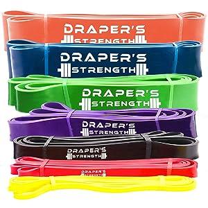 Draper's Strength Heavy Duty Pull Up Bands