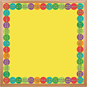 Hygloss Products Be Best Die-Cut Bulletin Board Border – Classroom Decoration – 3 x 36 Inch, 12 Pack