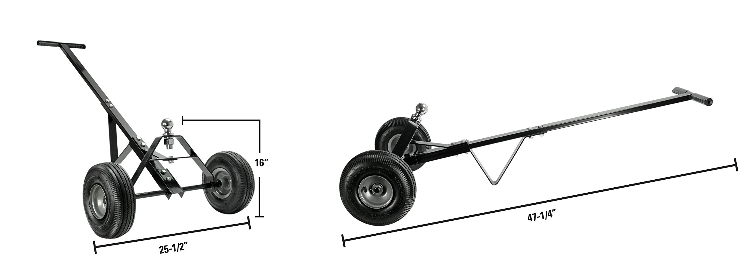 Extreme Max 5001.5766 Trailer Dolly-600 lb by Extreme Max (Image #2)