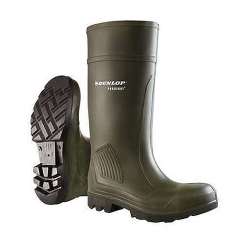 Dunlop Botas de Seguridad Modelo Purofort (41 EU/Verde)