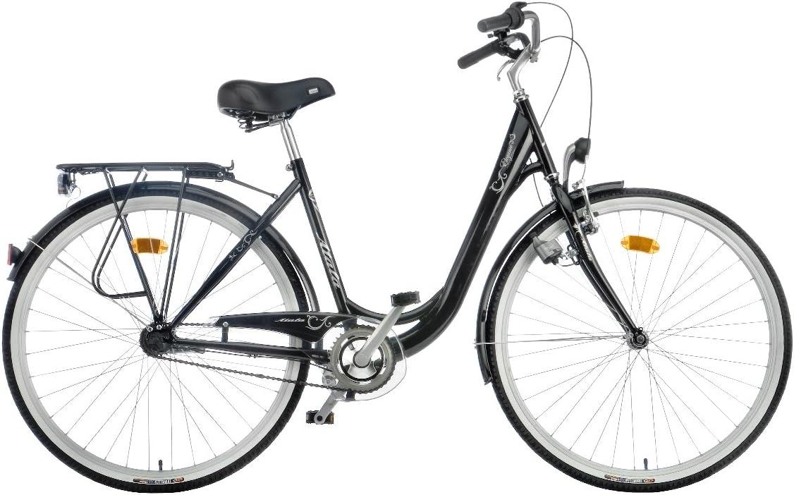 Atala 90-06281 - Bicicleta de Paseo para Mujer, Talla XS (155-160 ...