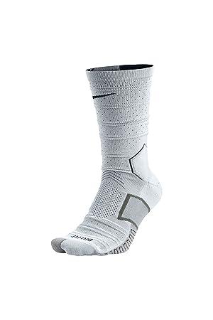 Nike Matchfit Elite Mercurial - Calcetines unisex, color blanco/negro, talla XS: Amazon.es: Deportes y aire libre