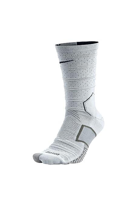 Nike Matchfit Elite Mercurial - Calcetines unisex, color blanco/negro, talla XS