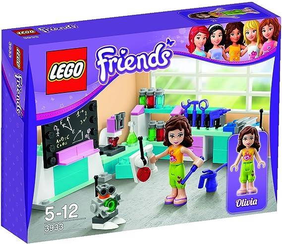 LEGO Friends 3933 - El Taller de Inventos de Olivia: Amazon.es: Juguetes y juegos