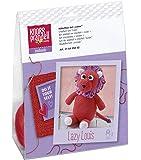 Knorr Prandell 218405002–Crochet Set animaux–Lion pour selberhäkeln