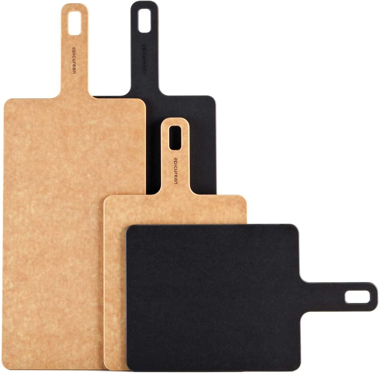 "Epicurean Handy Series 9/"" x 7/"" Cutting Board-Natural,008-090701,Brown,Composite"