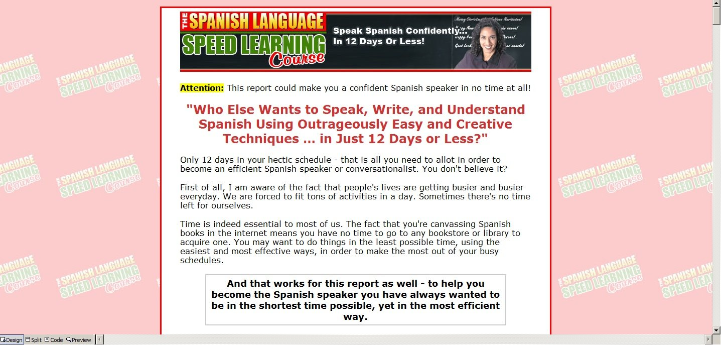 Workbooks spanish language workbooks : Learn Spanish Fast eBook CD-ROM Learning How To Book Audio Car ...