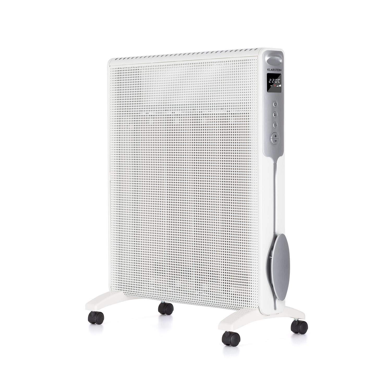 Acquisto KLARSTEIN Hot Spot Rolling Wave 2500 • Riscaldatore Verticale • 2 Livelli: 1500 o 2500 W • Temperatura 5-36 ° C • 4 Elementi Riscaldanti Mica • AntiDryAir • Rotelle • Bianco Prezzi offerte