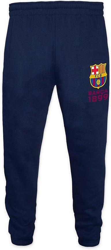 FC Barcelona - Pantalón de fitness ajustados - Para niño - Forro polar - Producto oficial: Amazon.es: Ropa y accesorios