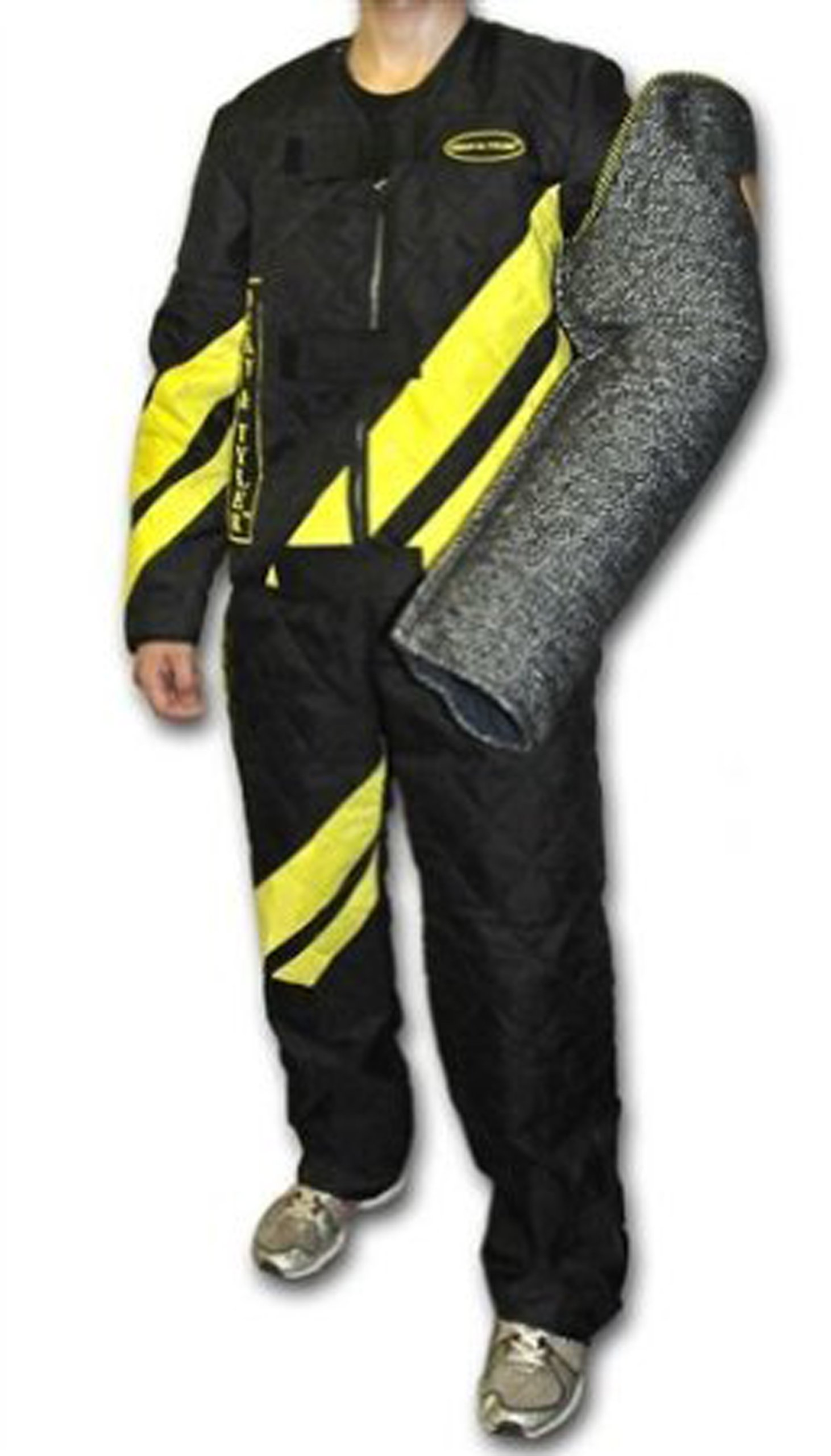 Dean and Tyler Scratch Suit, Neoprene Nylon - Black/Yellow - Size: Large (J: 42-Inch, P: 36-Inch)