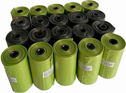 Supron Bolsas de Basura para Perros, 300 Unidades, biodegradables ...