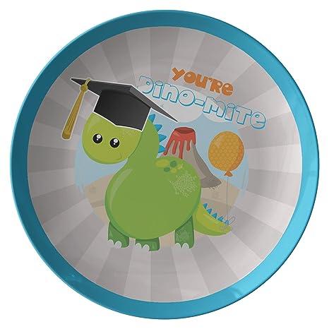 Amazon.com: Dinosaurio placa para niños, Preescolar regalo ...