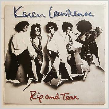 amazon rip and tear lp karen lawrence ミュージック 音楽