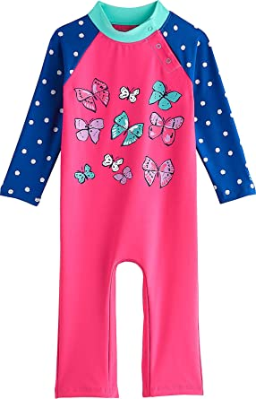 154953141c Coolibar UPF 50+ Baby Beach One-Piece Swimsuit - Sun Protective (6 Months