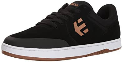 Etnies Men's Marana Skate Shoe, Black/Tan, 5 Medium US