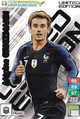 carte de foot 2020 Amazon.com: ROAD TO EURO 2020 Adrenalyn XL Antoine Griezmann