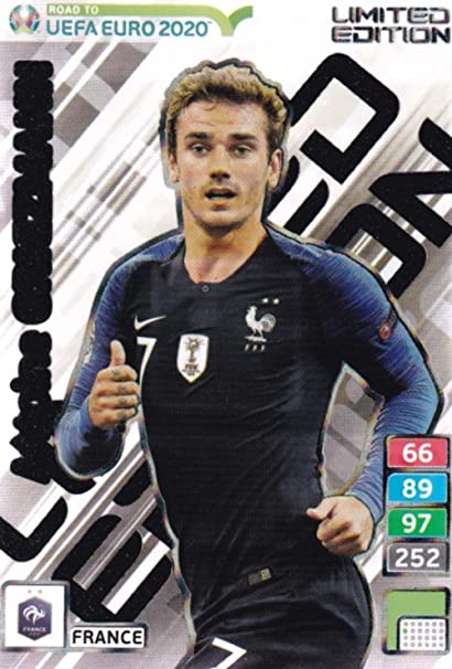 carte foot euro 2020 Amazon.com: ROAD TO EURO 2020 Adrenalyn XL Antoine Griezmann