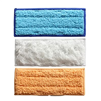 Lot de 3lingettes lavables humide et sec et humide de balayage Pad Coussinets de lavage en microfibre pour iRobot Braava Jet 240