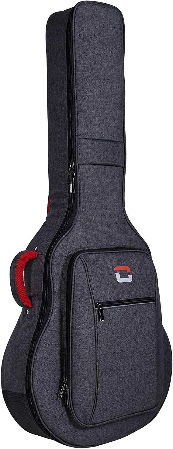 Crossrock Metro Series Bass Gig Bag-Fits Semi-Hollow & Hollowbody