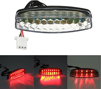 Tail Light for 50cc 70cc 90cc 110cc 125cc ATVs