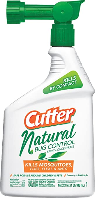 Cutter Natural Bug Control Spray Concentrate (HG 95962) (32 Fl Oz)