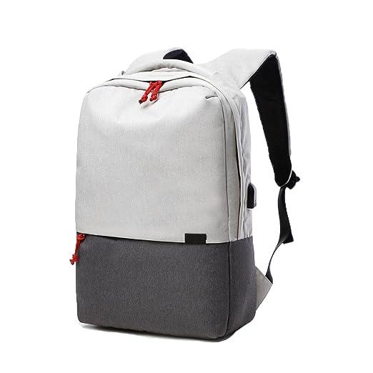 5 opinioni per Valleycomfy uomini/donne di zaino (fino a 39,6 cm) borsa di tela con interfaccia