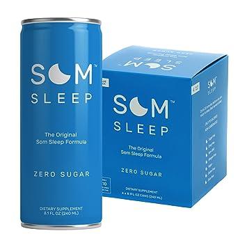 Som Sleep, The Original Sleep Support Formula with Melatonin, Magnesium, Vitamin B6,
